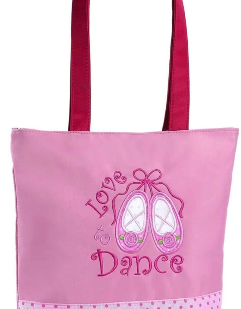 Sassi Designs L2D-01PK Love 2 Dance Pink Tote