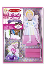 Melissa and Doug 9623 Magnetic Dress-Up Doll Tutus and Wings