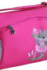 Sassi Designs Ballerina Mouse Small Roll Duffel