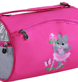 Sassi Designs Ballerina Mouse Small Roll Duffel