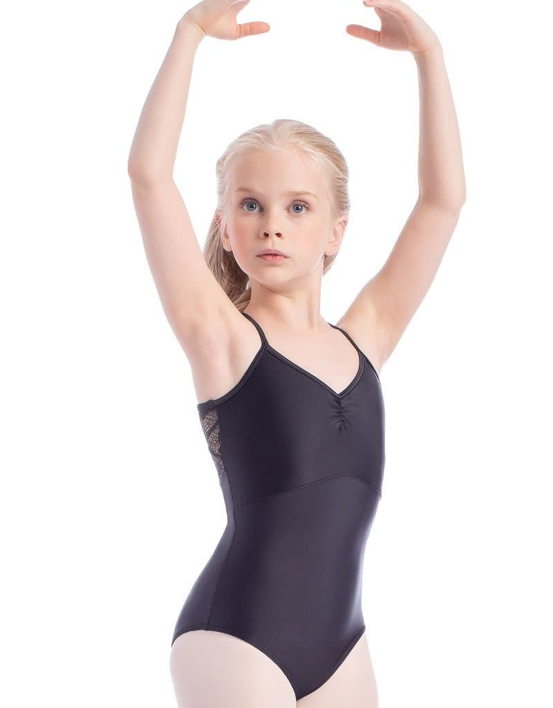 So Danca L-1839 Child Shimmer Leotard with Lace (SMxSD)