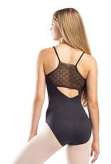 So Danca RDE1918 Adult Cami Leotard Diamond Lace on Back (SMxSD)