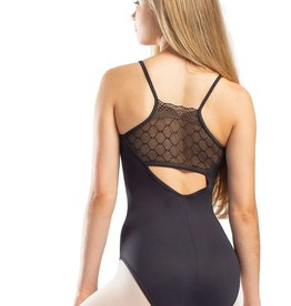 So Danca RDE-1918 Adult Cami Leotard Diamond Lace on Back (SMxSD)