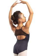 So Danca L-1829Child Camisole Leotard with Diamond Lace on Back (SMxSD)