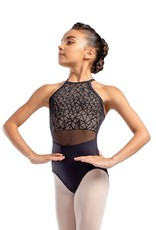 So Danca L-1815 Child Camisole Leotard with Web Mesh Overlay (SMxSD)
