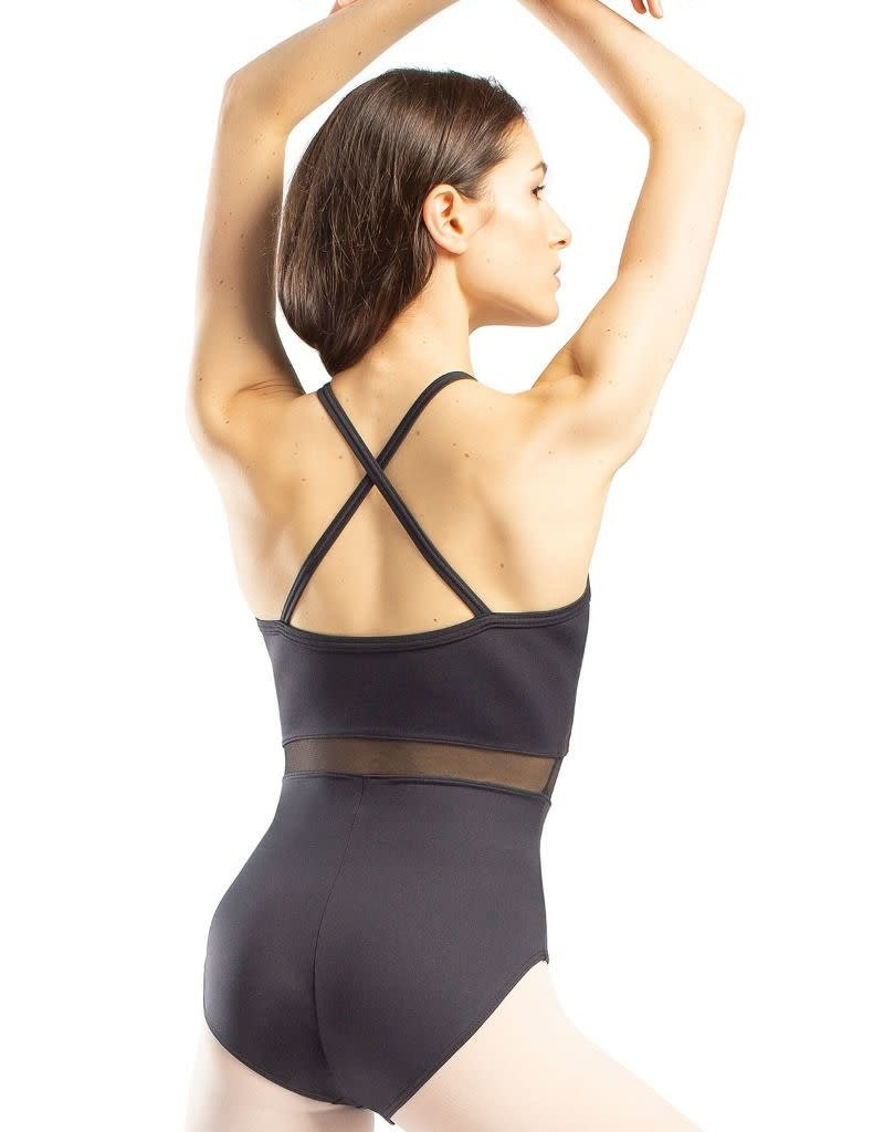 So Danca RDE-1909 Adult Camisole Leotard with Web Mesh Overlay (SMxSD)