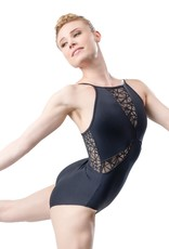 L-1817 Child Camisole Leotard with a Webbed Mesh V-Cut Insert (SMxSD)