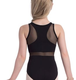 So Danca D-1389 Child Tank Leotard with Mesh Inserts