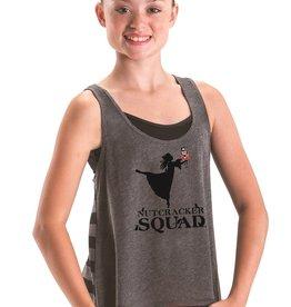 Motionwear Nutcracker Squad w/ Dancer Striped Back Tank Youth & Adult