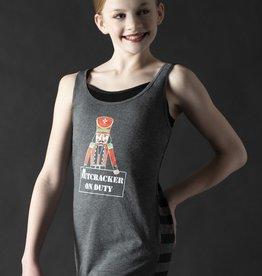Motionwear Nutcracker on Duty Striped Tank Youth & Adult
