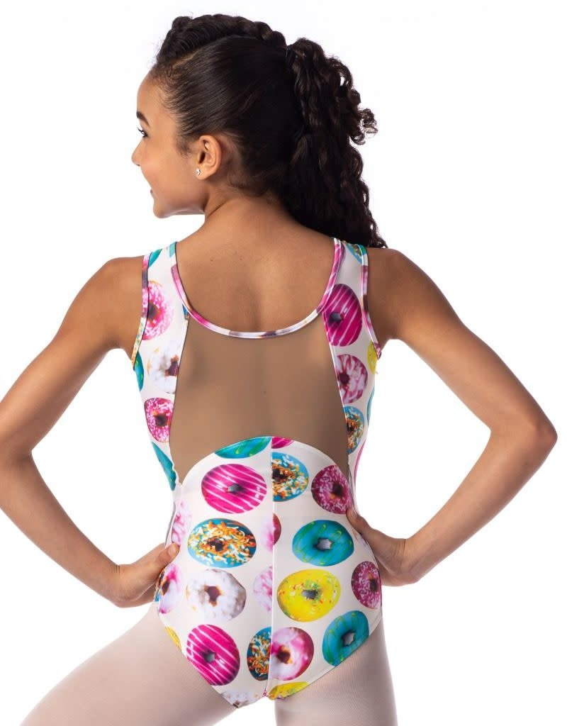 So Danca Sweets Tank Leotard with Mesh Youth