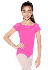So Danca SL-17 Tilly Cap Sleeve Lace Leo Youth