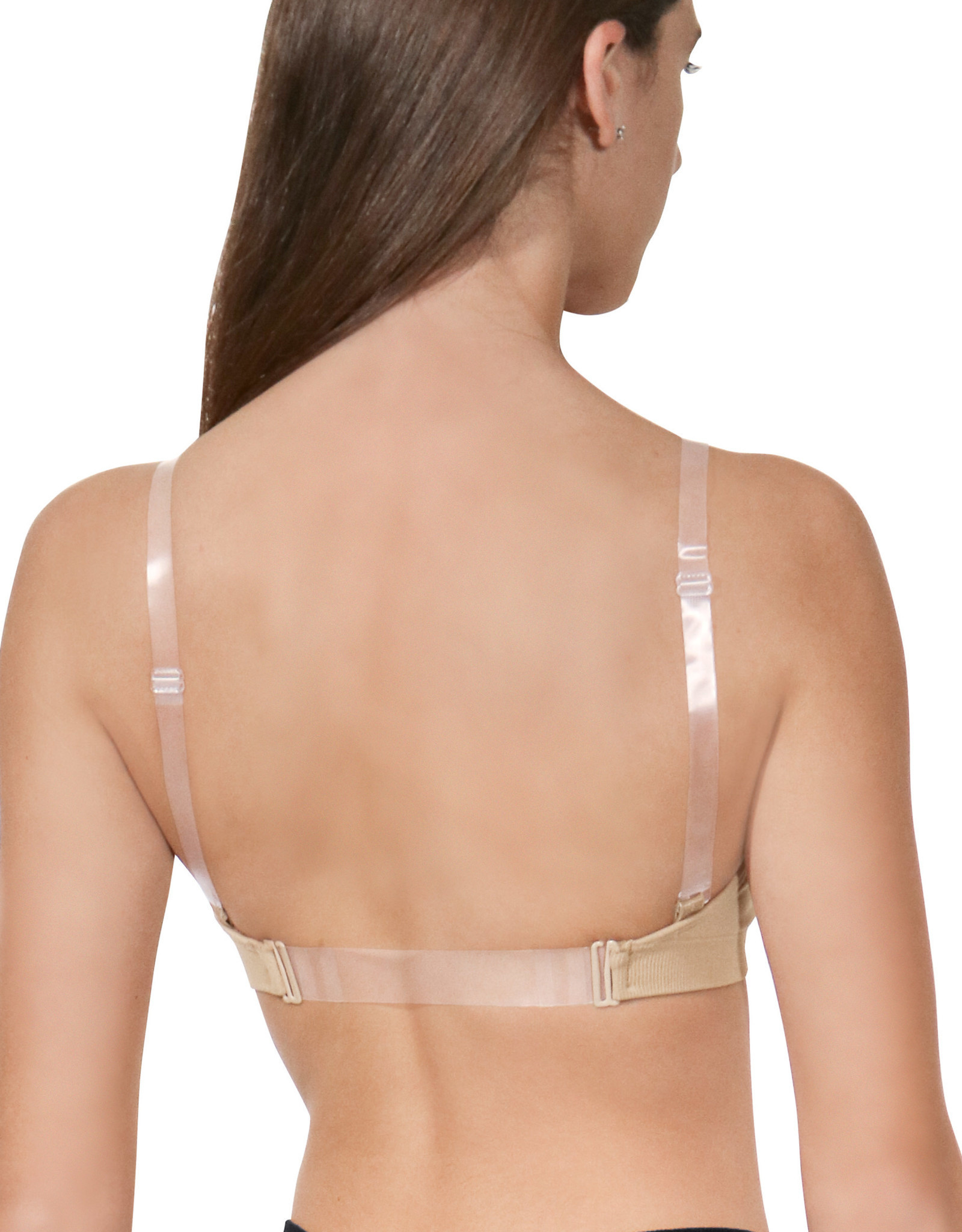 Eurotard Clear Adjustable Shoulder Replacement Straps