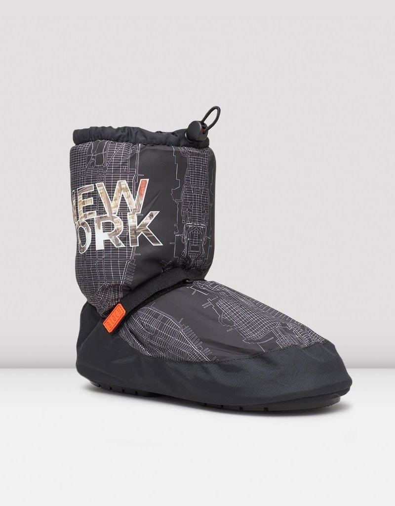 Bloch IM019CM New York City Map Multi-function Warm Up Booties