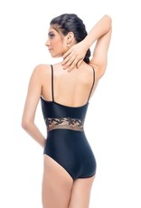 So Danca RDE-2024 Adult Camisole Leotard with Lace on Mid and Top Bodice