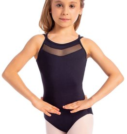 So Danca L1711 Youth Camisole Leotard with Mesh Insert