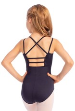 So Danca L-1711 Youth Camisole Leotard with Mesh Insert