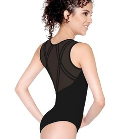 So Danca D-1647 Adult Mesh Wide Tank Leotard