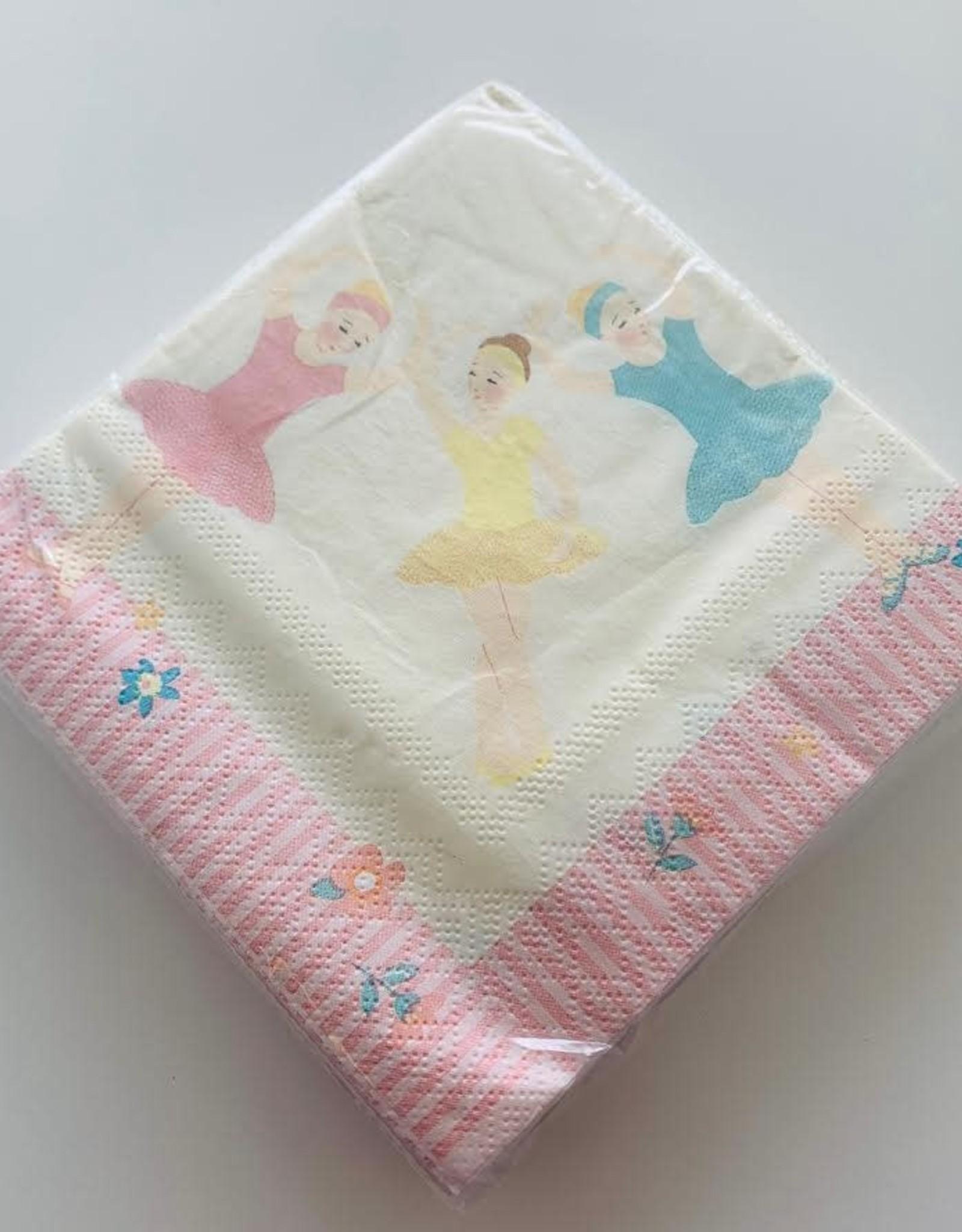 Meri Go Round Twinkle Toes Paper Napkins