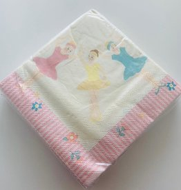 Meri Go Round Twinkle Toes Paper Napkins