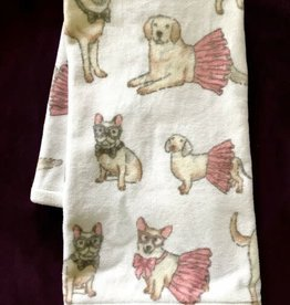 TT & Lola Hand Towel with Tutus