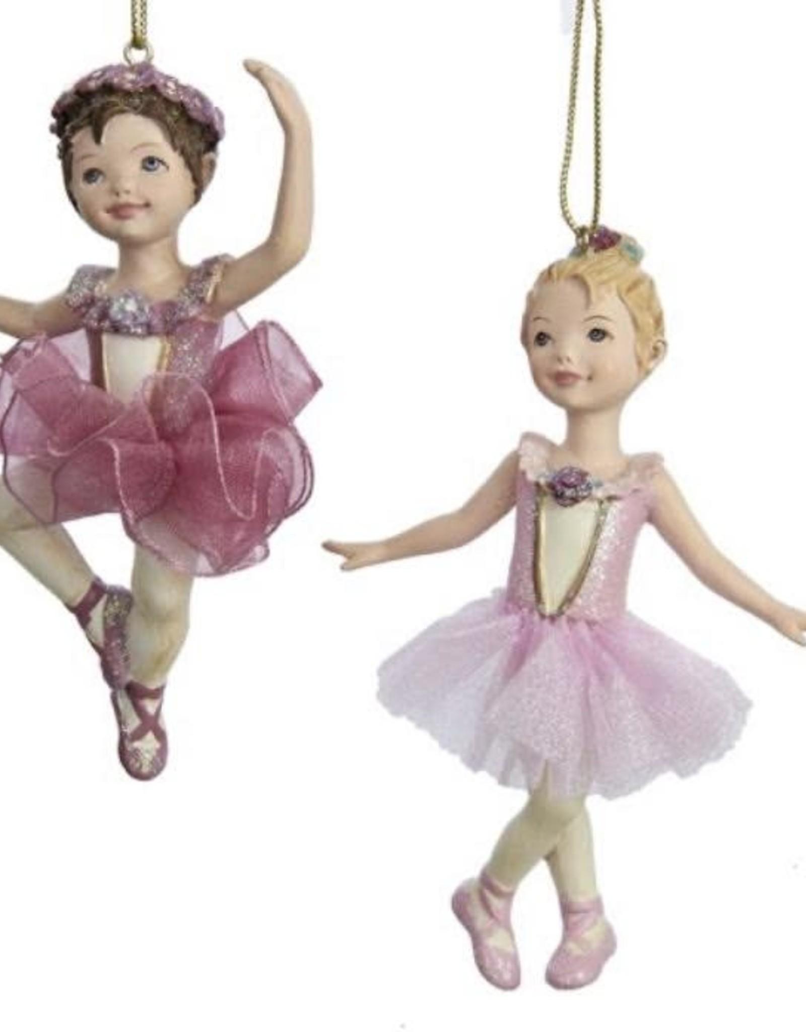Kurt S Adler C8339 Resin Ballet Girl Ornament