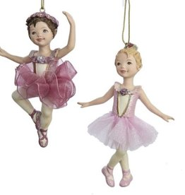 Kurt S Adler C8339 Resin Ballet Girl Ornament