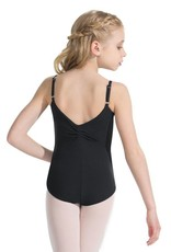 Capezio TC0052C Youth Tactel Pinch Front Leotard