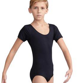 Capezio 10390B Boy's Short Sleeve Leo
