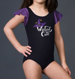 Suffolk Wicked Cute Flutter Sleeve Leotard