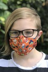 KM 100% Cotton Face Masks