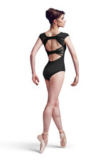 Bloch MJ7178 Mirella Back Bow Cap Slv Leo