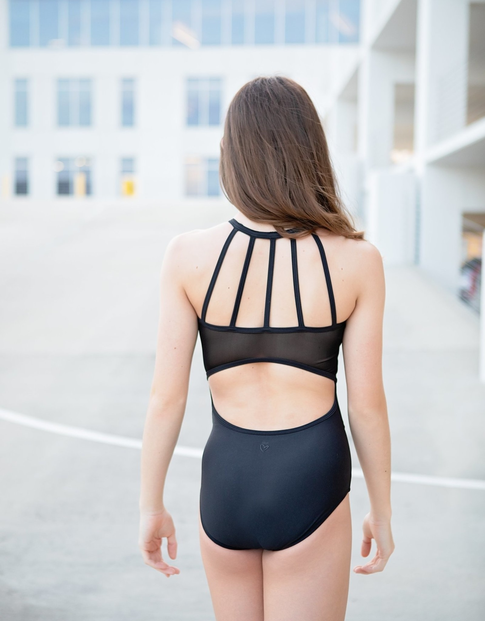 Oh La La The Empire Leotard Black (OLL180-BLK)