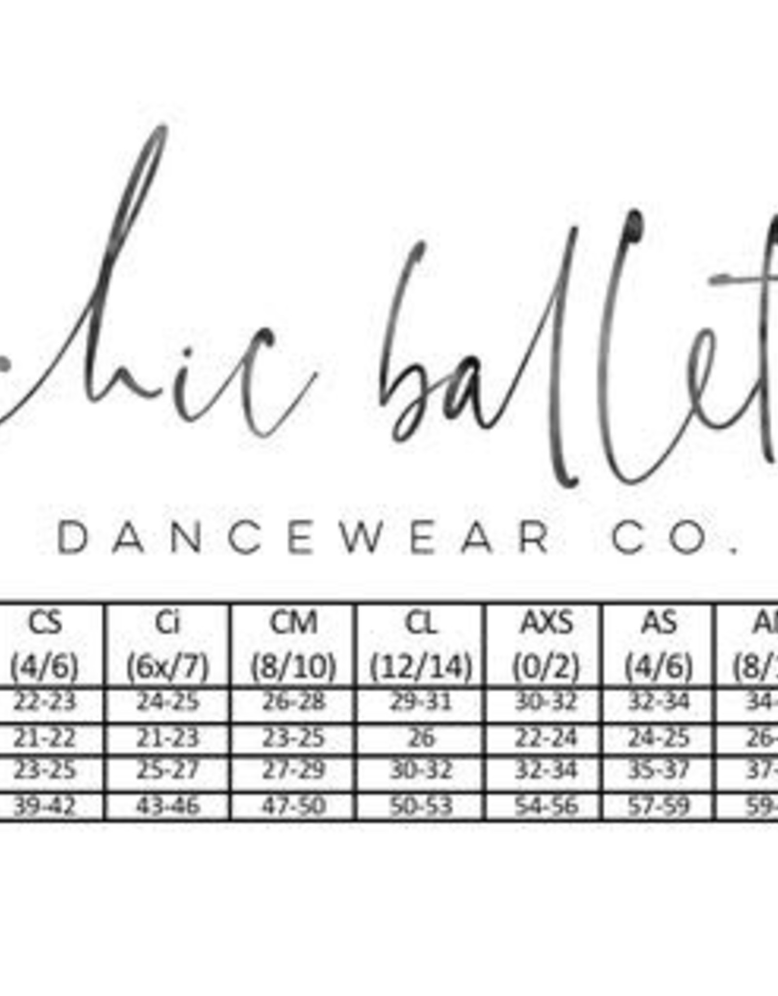 Chic Ballet The Caroline Leotard Bitty Floral (CHIC103-BTF)