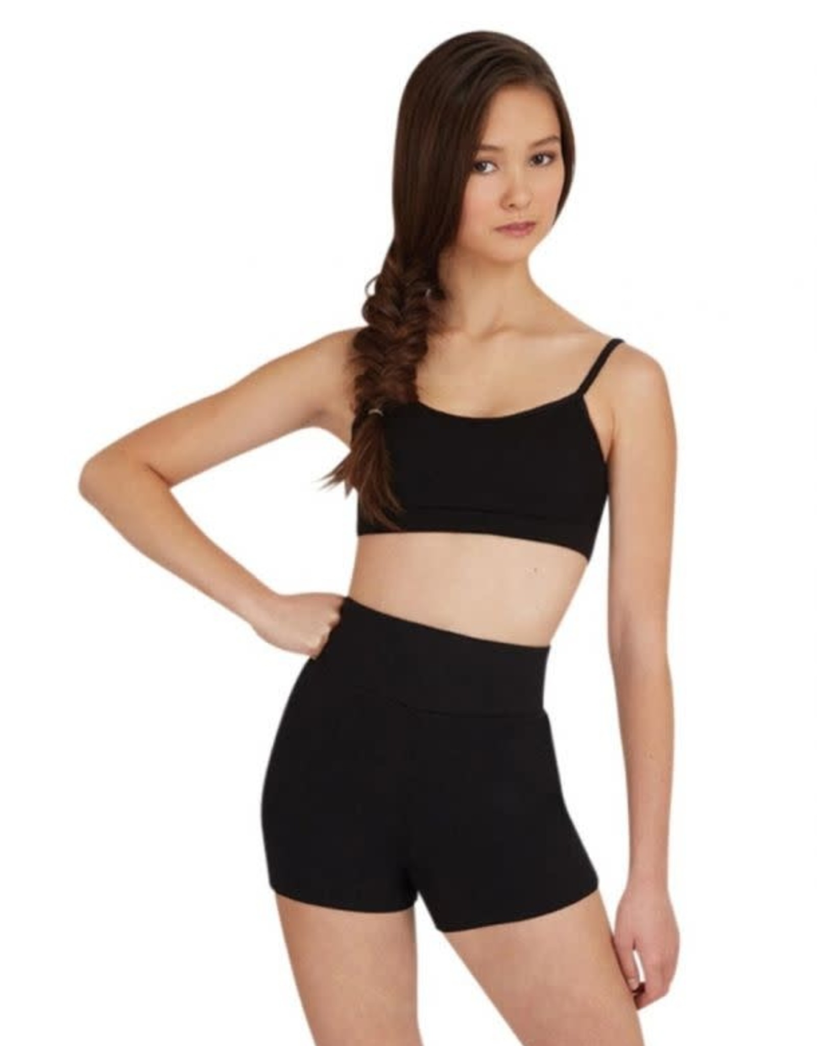 Capezio TB131 High Waisted Shorts Adult