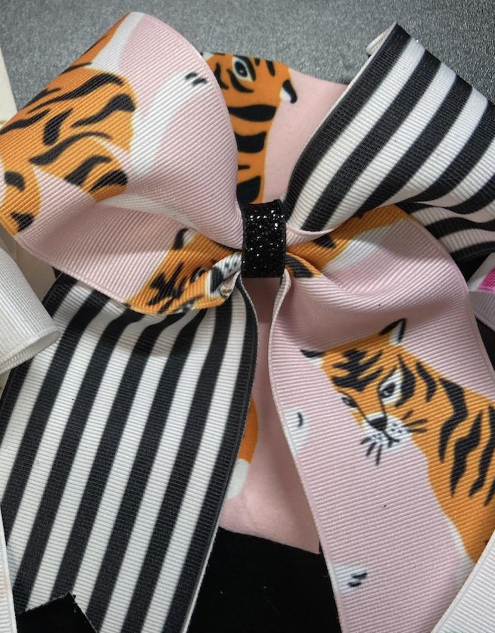 Lil Divas Dancewear Bow in Tiger Queen