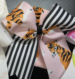 Lil Divas Dancewear Bow in Tiger Queen