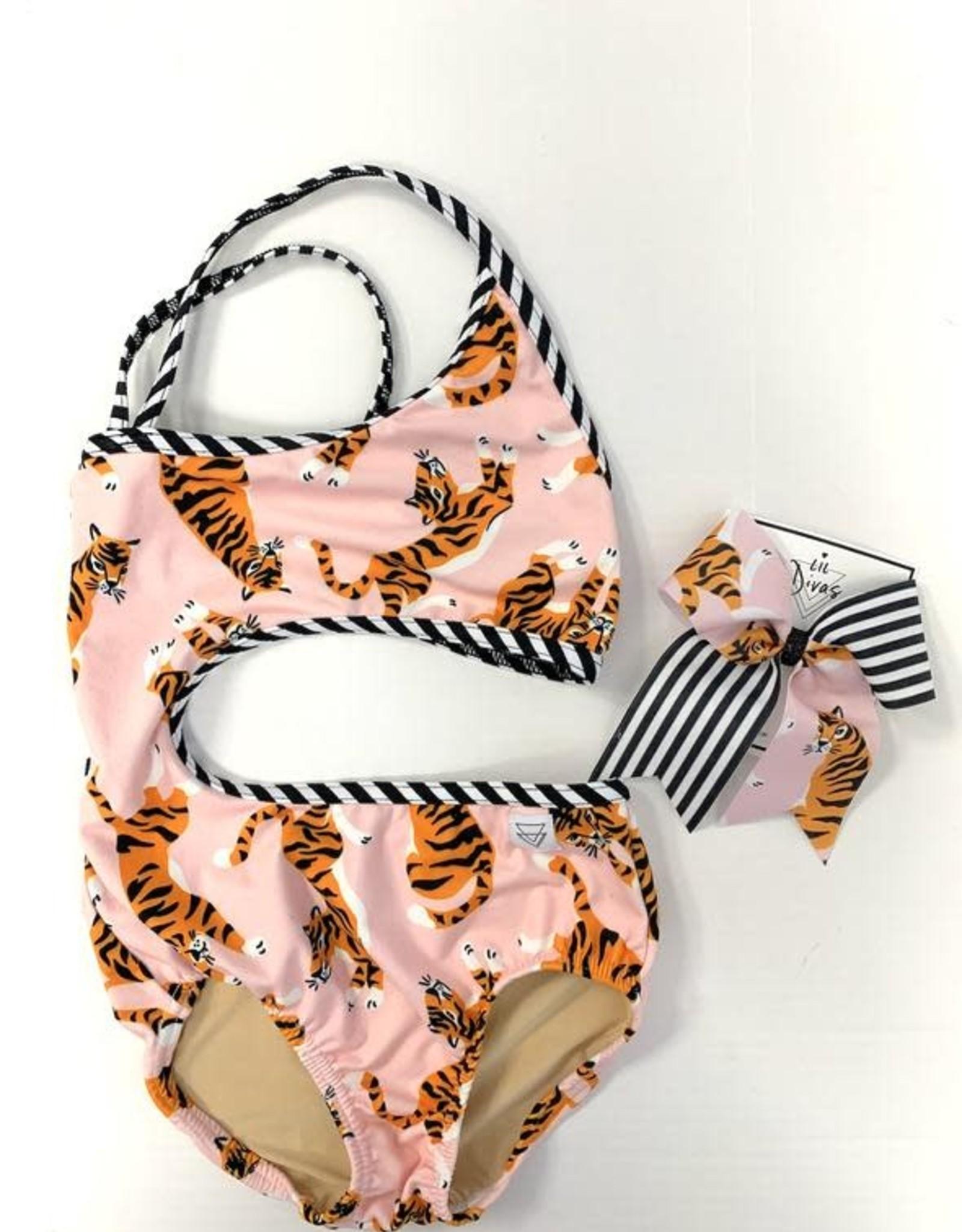 Lil Divas Dancewear The Carmen Leo // Tiger Queen