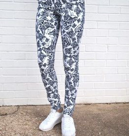 Girl Power Sport Leo the Cat Leggings