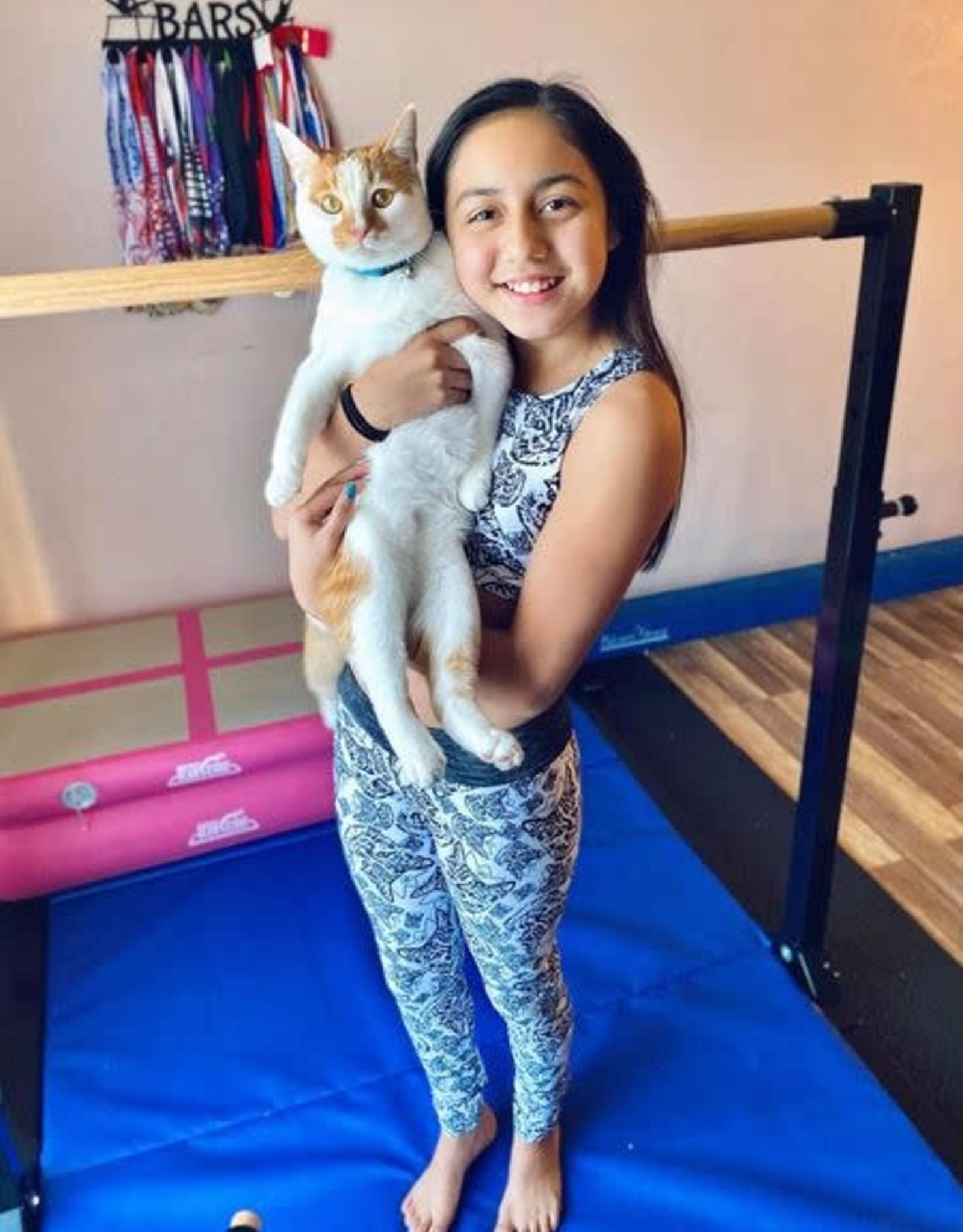 Girl Power Sport Leo the Cat Leggings