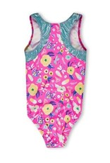 Girl Power Sport Dragonfly Perfect Fit Racer Back Leotard