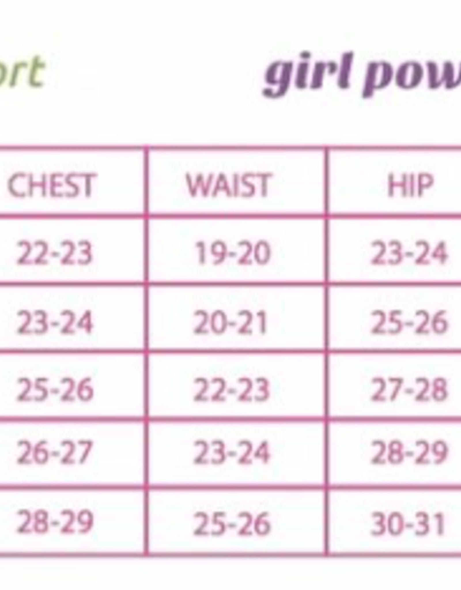 Girl Power Sport Husky Power Perfect Fit Racer Back Leotard