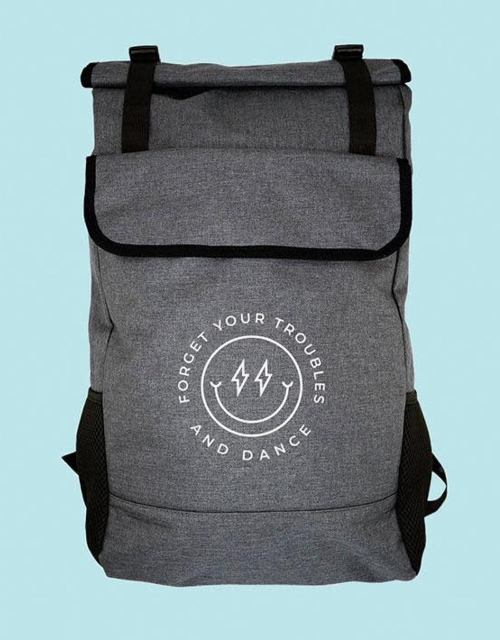 Covet Forget Your Troubles and Dance - Roll-Top Backpack