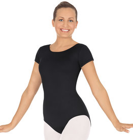 Eurotard 44475 Short Sleeve Leotard Adult