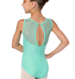 So Danca SL128 Gemette Wide mesh Strap Leotard Youth
