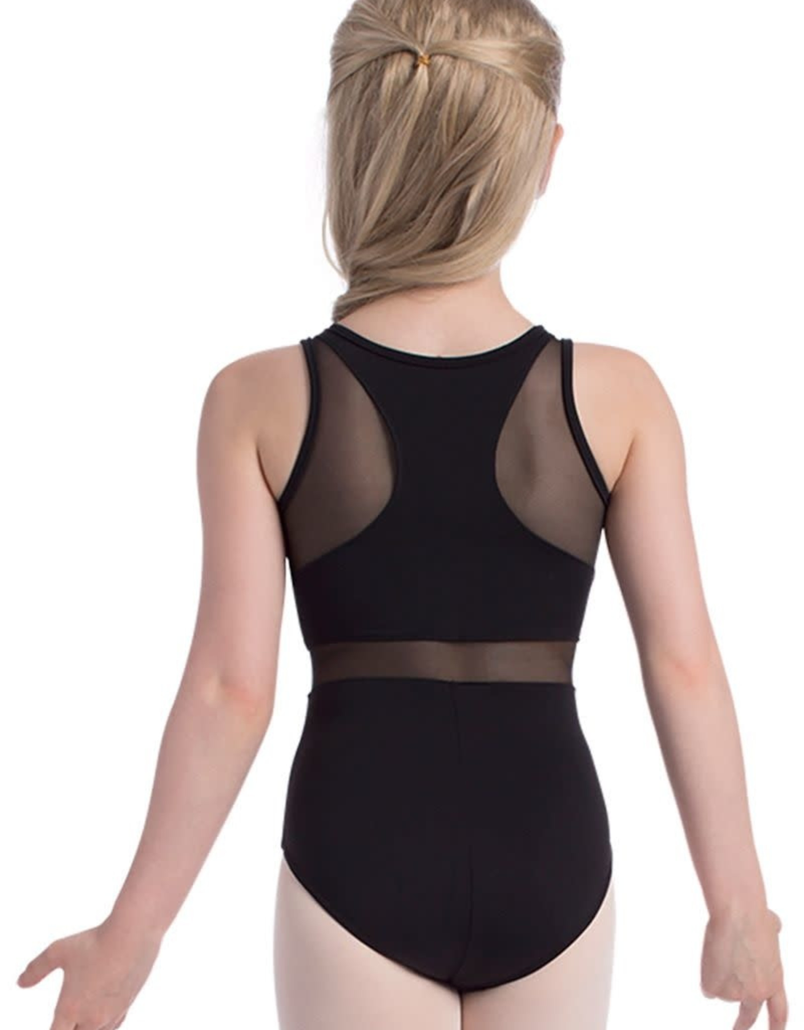 So Danca SL133 Tank Leotard with Mesh Inserts Adult