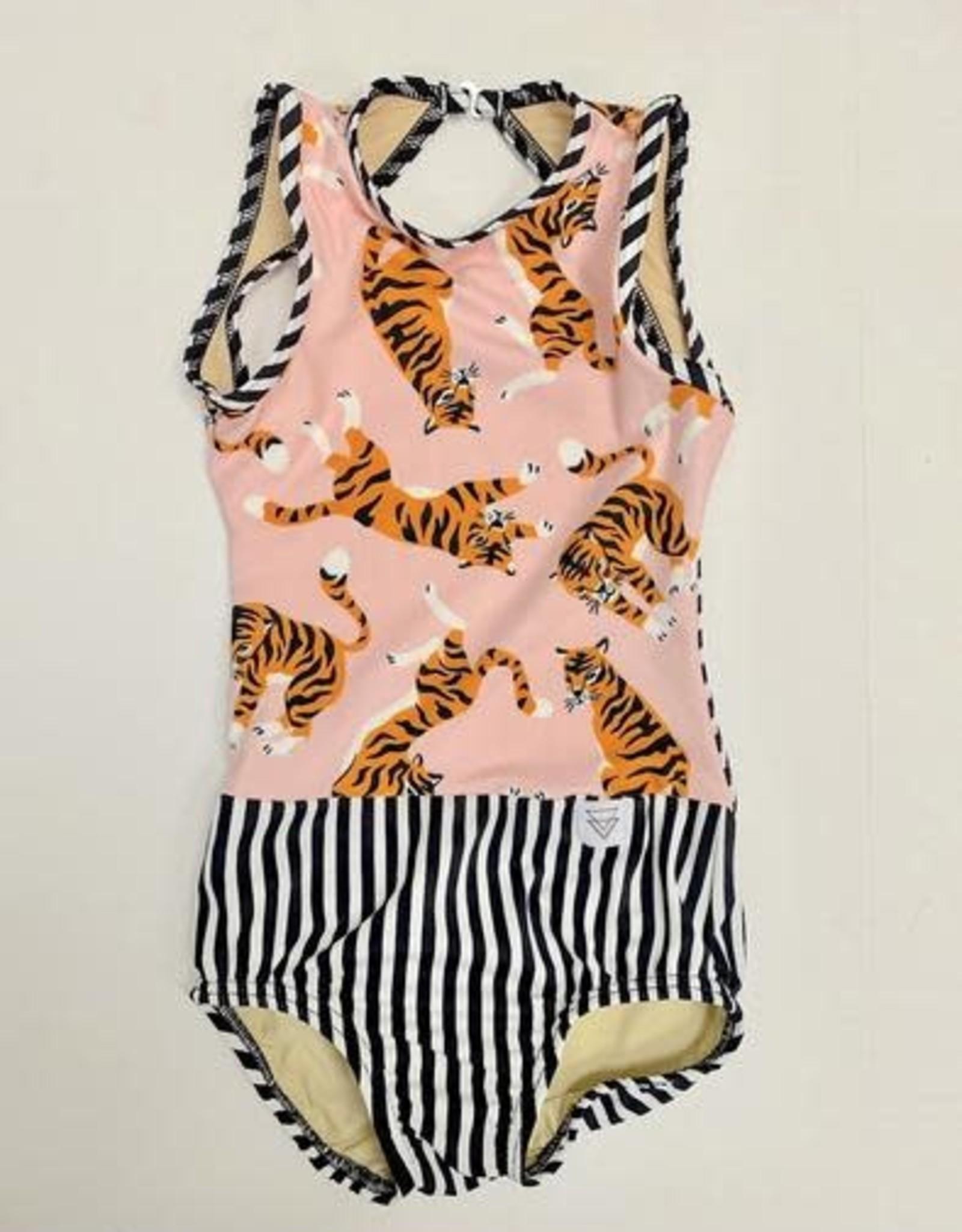 Lil Divas Dancewear The GiGi Leo // Tiger Queen