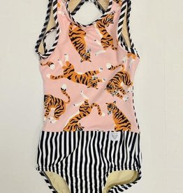 Lil Divas Dancewear The GiGi Leo // Tiger Queen