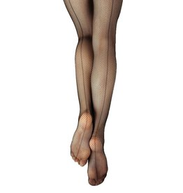 Capezio 3408c Studio Basics Fishnet Tight with Seams Youth