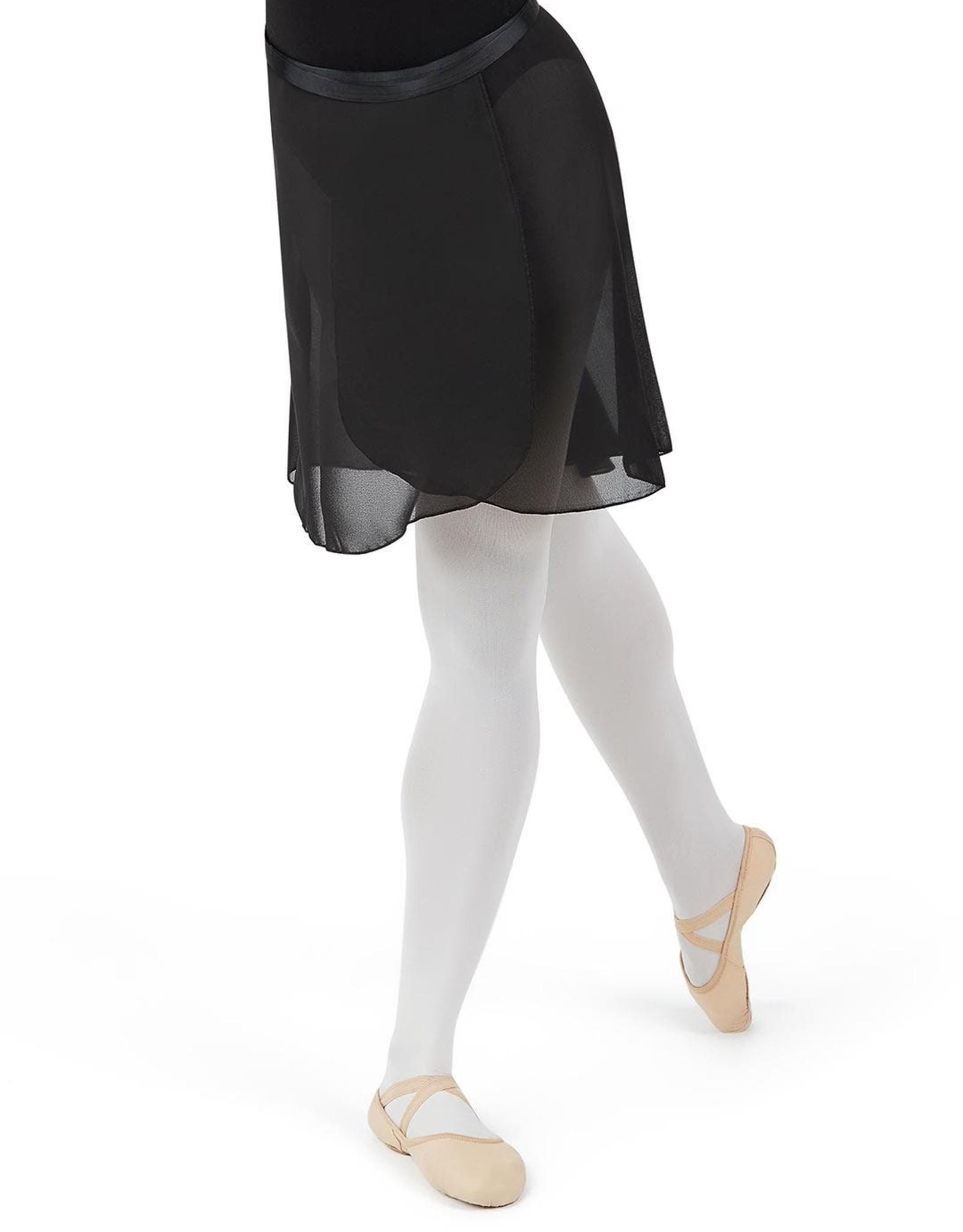 Capezio Georgette Long Wrap Skirt N276